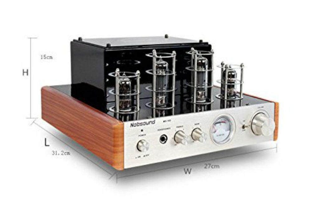 Nobsound® MS-10D Hybrid Tube Amplifier Power Amplifier Review