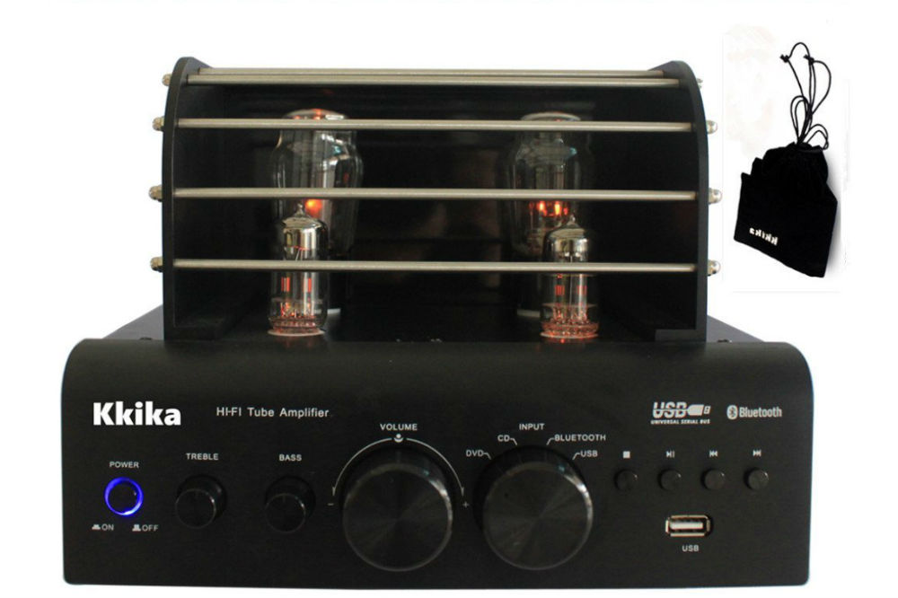Kkika 38W2 Tube Hi-Fi Stereo Amplifier Review