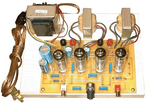 Stereo Integrated Tube Amplifier DIY Kit Review | Top Tube